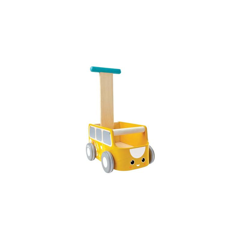 Furgo caminador amarillo Plantoys