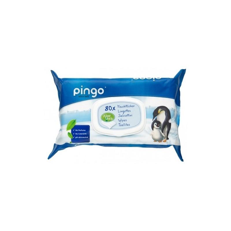 Paquete de 80Uds de toallitas para bebé Pingo
